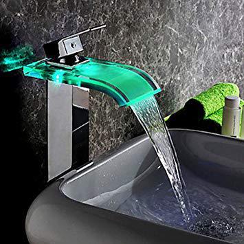 robinet led lavabo
