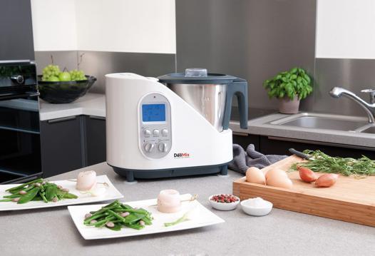 robot de cuisine qui cuit les aliments