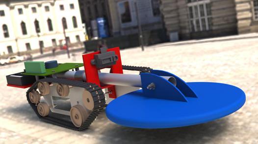 robot detecteur de metaux