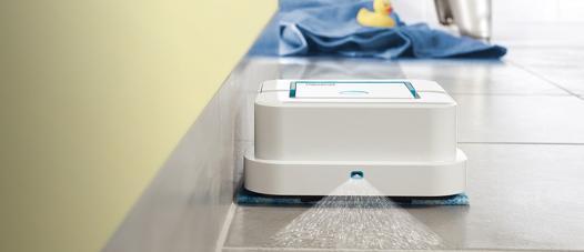 robot laveur de sol vapeur