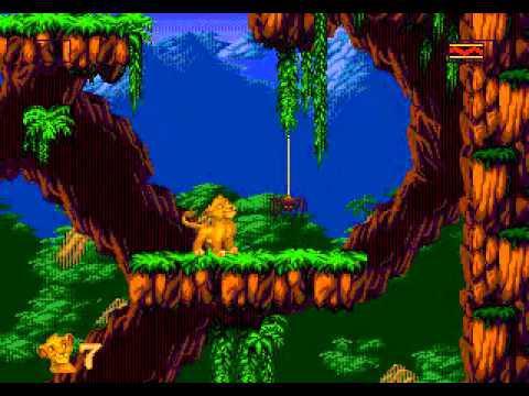 roi lion megadrive