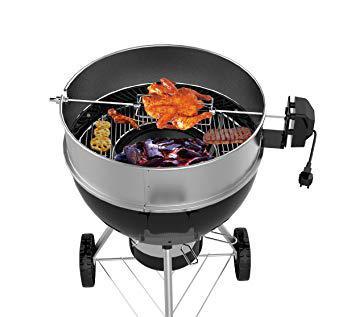 rotissoire pour barbecue weber