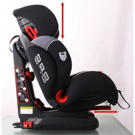 siege auto groupe 2 3 inclinable isofix