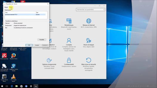 souris et clavier ne fonctionne plus windows 10
