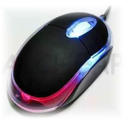 souris sans fil lumineuse