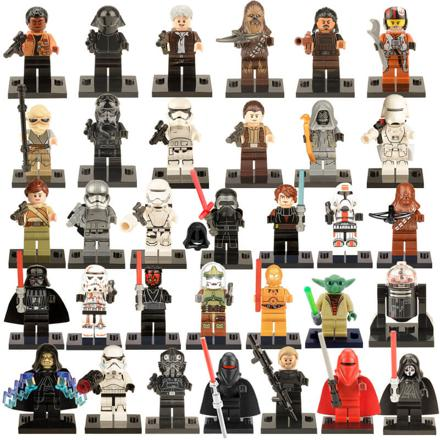 star wars lego figurine