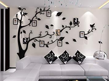 sticker mural arbre photo