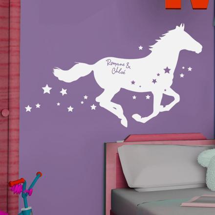 stickers chevaux pour chambre