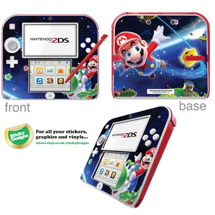 stickers nintendo 2ds