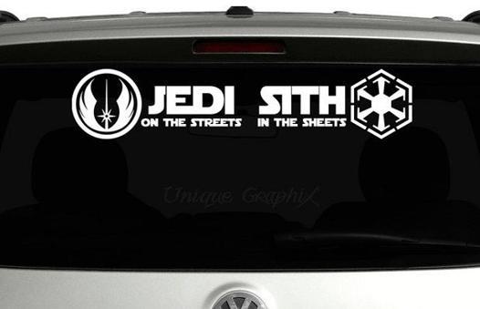 stickers star wars voiture