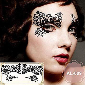 stickers visage maquillage