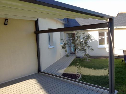 store pare vent pour terrasse