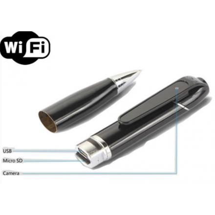 stylo camera espion wifi