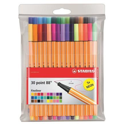 stylo couleur stabilo