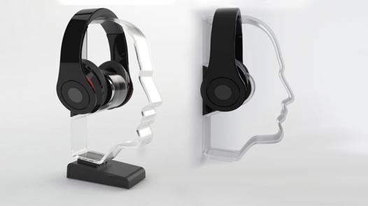 support casque audio design