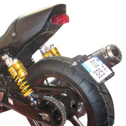 support de plaque moto
