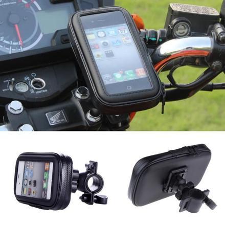 support iphone moto étanche