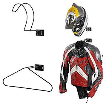 support mural casque moto