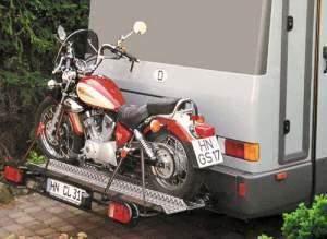 support porte moto pour camping car