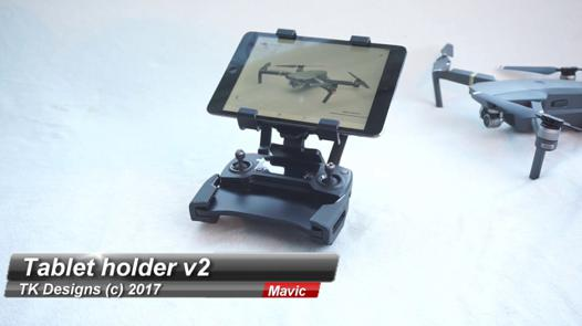 support tablette mavic