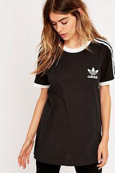 t shirt adidas femme noir