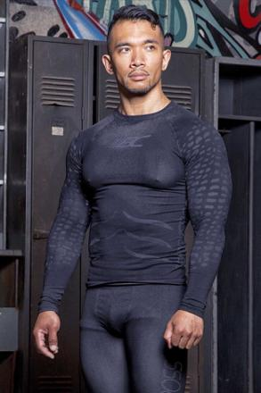 t shirt de compression homme