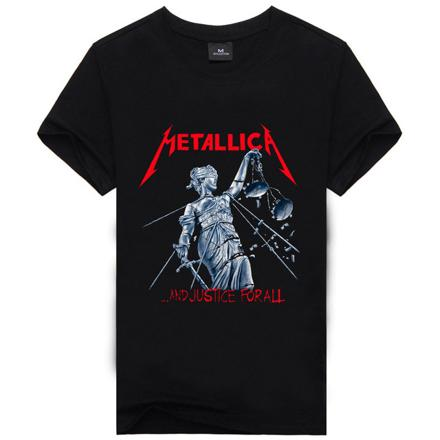 t shirt metallica homme