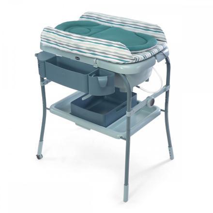 table à langer baignoire pliable
