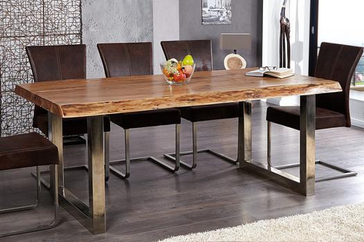 table a manger bois et fer