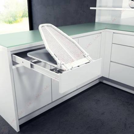 table a repasser tiroir
