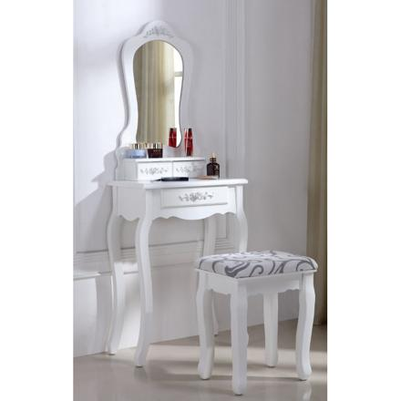 table de coiffeuse