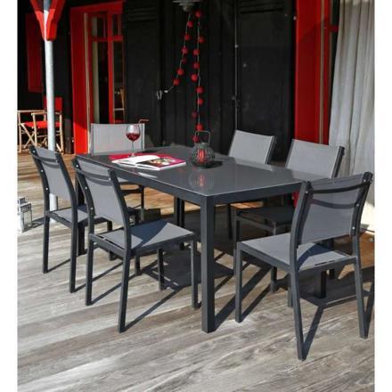 table de jardin 6 chaises