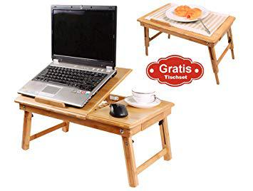 table de lit pour ordinateur