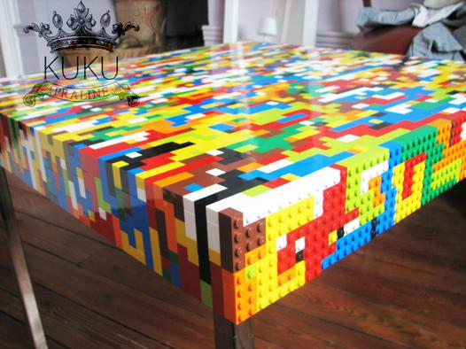 table lego abrick