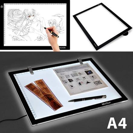 table lumineuse dessin