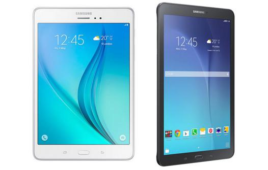 tablette galaxy tab e