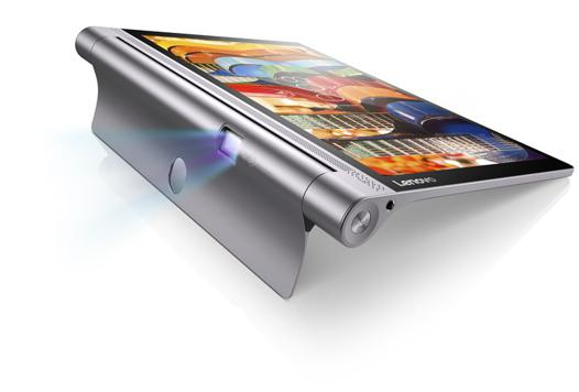 tablette lenovo projecteur