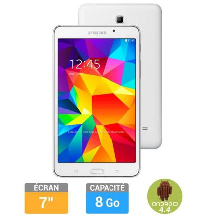 tablette samsung 7 pouces blanche