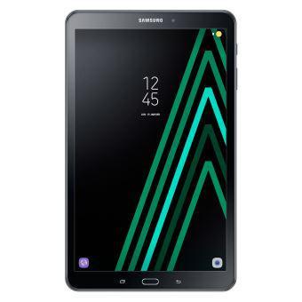 tablette samsung ecran noir