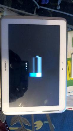 tablette samsung galaxy note 10.1 ne charge plus