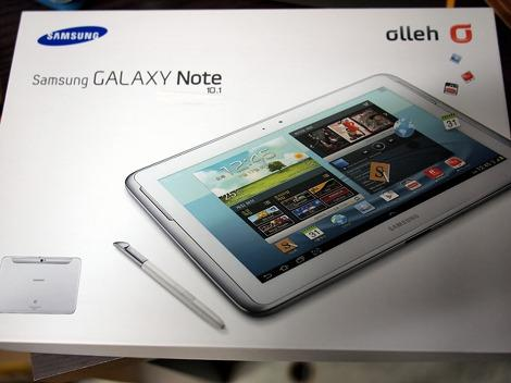 tablette samsung galaxy note 2