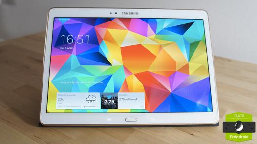tablette samsung grand ecran