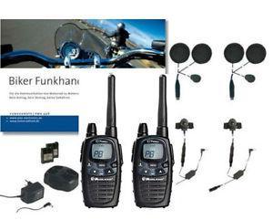 talkie walkie pour moto