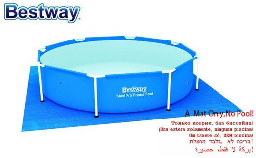 tapis de protection pour piscine hors sol