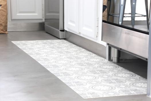 tapis de sol pour cuisine