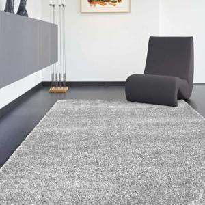 tapis gris clair salon
