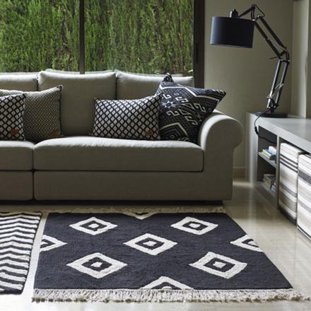 tapis lavable salon