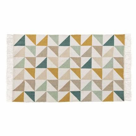 tapis motif triangle