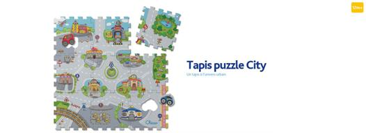 tapis puzzle city chicco