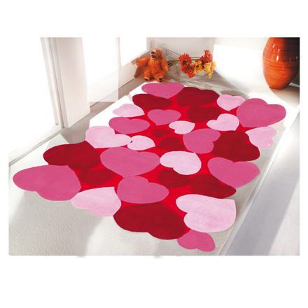 tapis rose pour chambre bebe